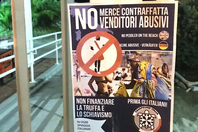 CasaPound Barletta contro gli ambulanti
