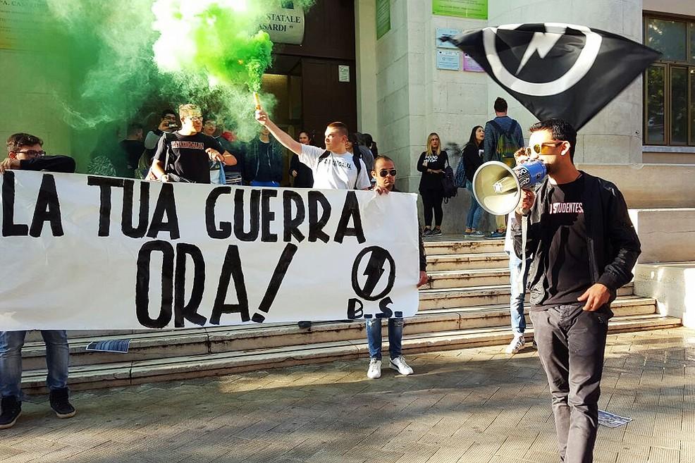 Protesta al Casardi