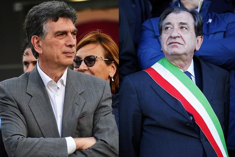 Mino Cannito e Pasquale Cascella