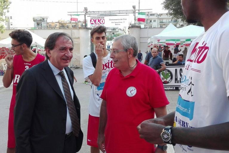 Gino Degni e Pasquale Cascella