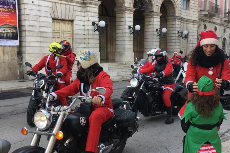 Christmas bikers for children