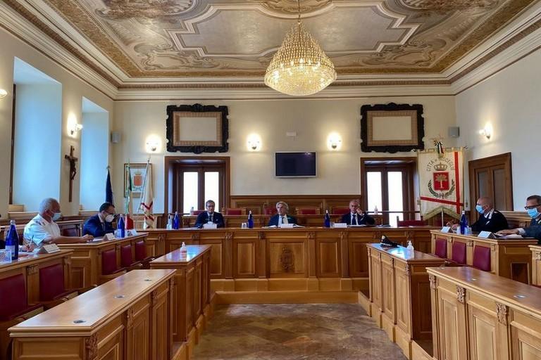 Comitato per lordine pubblico a Bisceglie