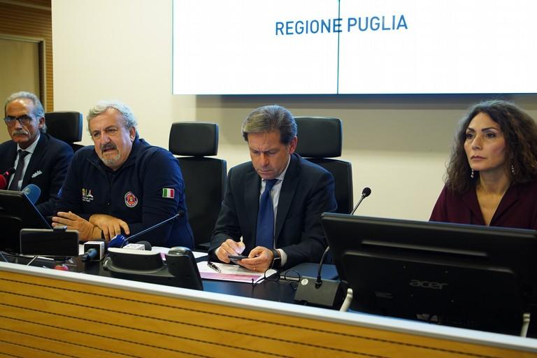 Conferenza stampa Regione coronavirus
