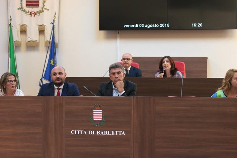 Consiglio comunale (Foto Ida Vinella)