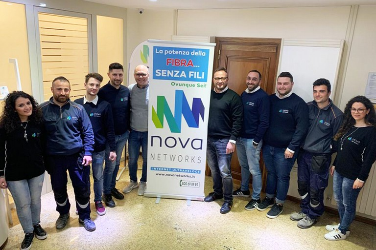 Il team di Nova Networks