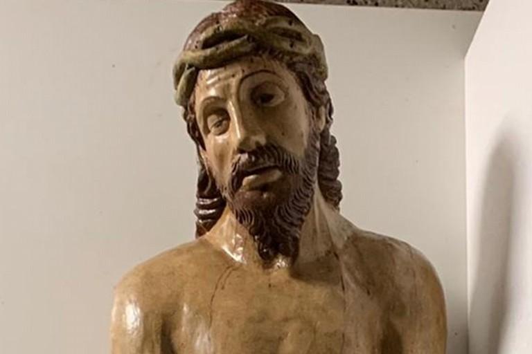 Cristo morto, parrocchia Sant'Andrea