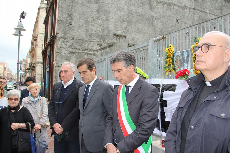 Settimo anniversario del crollo di via Roma