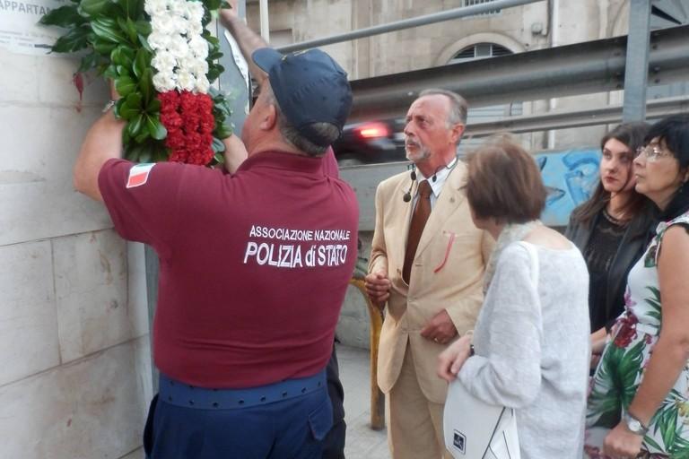 Commemorazione crollo via Canosa