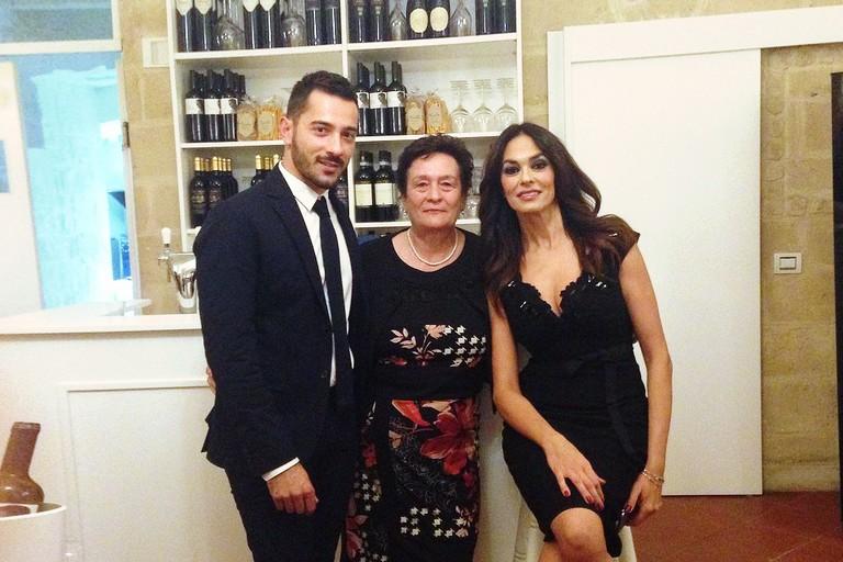 Maria Grazia Cucinotta a Giulia Ristorante & Bottega