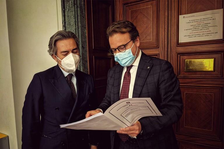 Senatore Dario Damiani incontra Battistoni