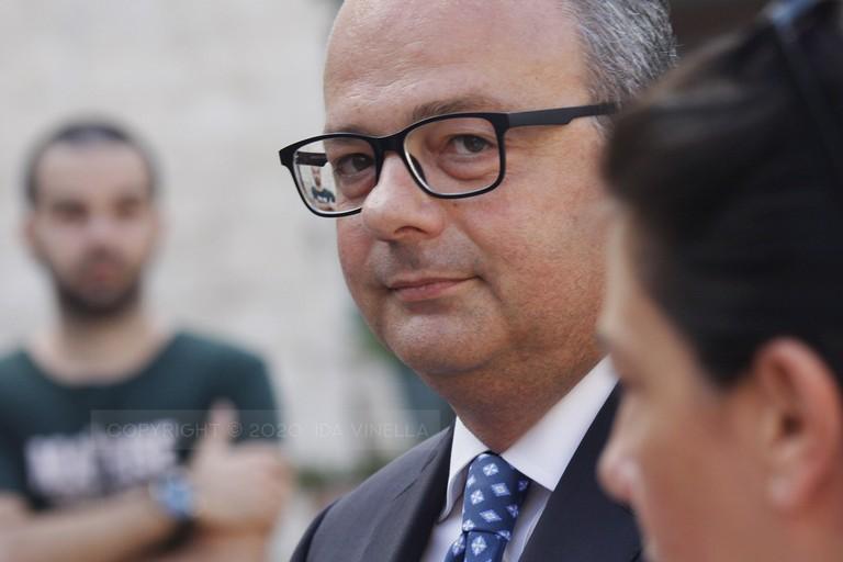 Alessandro Delle Donne. <span>Foto Ida Vinella</span>