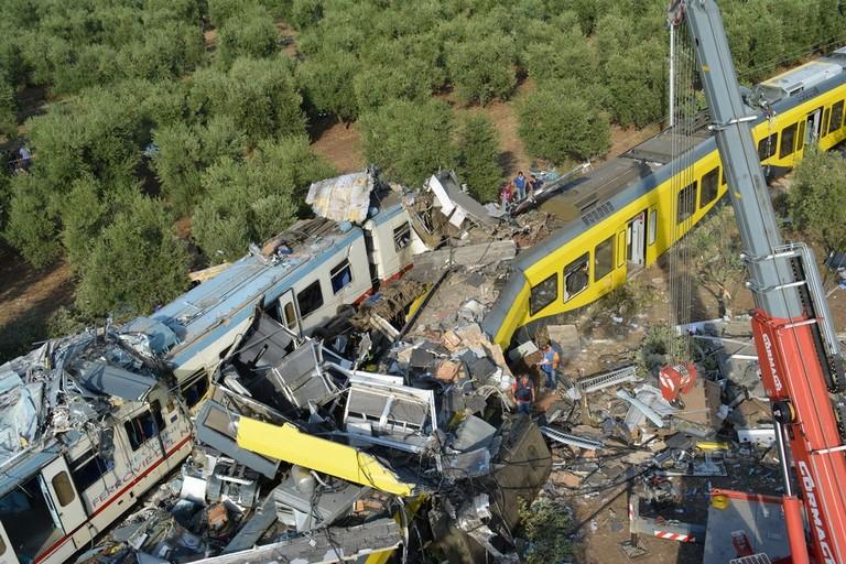 Disastro ferroviario