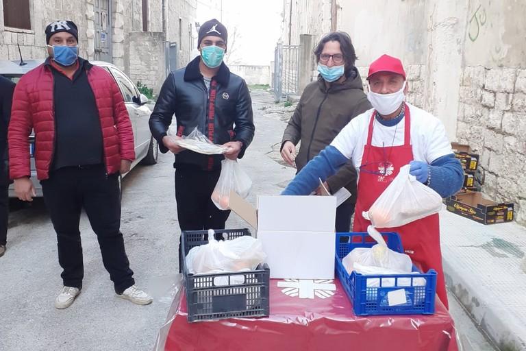Donazione Caritas Barletta