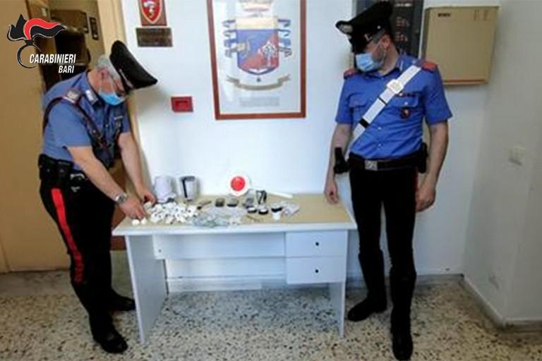 Droga rinvenuta a Barletta dai Carabinieri