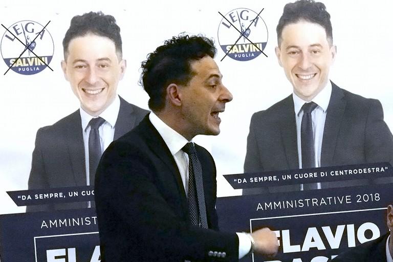 Flavio Basile candidato sindaco: «Prima i Barlettani»