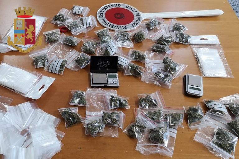 Marijuana rinvenuta dalla Polizia