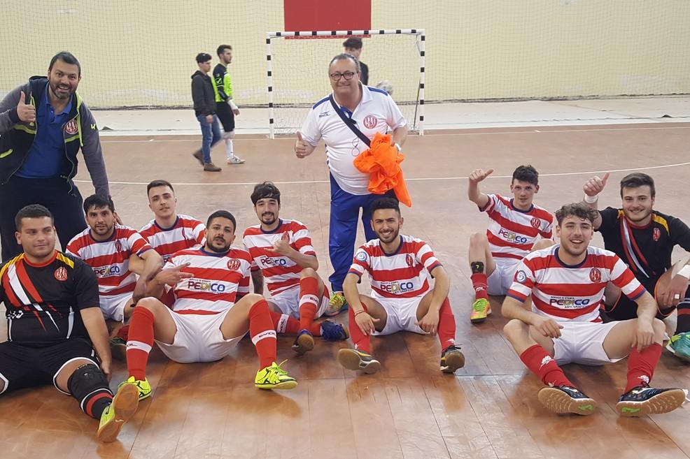 Il Futsal Barletta batte il Real Cefalù e vola agli ottavi di finale dei playoff