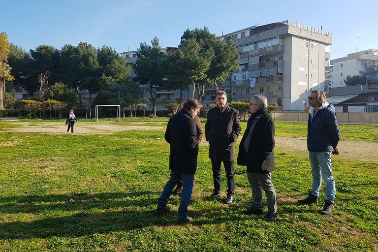 Giardino di via Dante, uno spazio verde nella 167 di Barletta