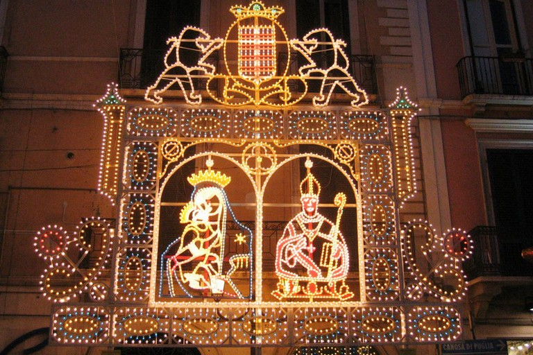 Luminarie dei Santi Patroni di Barletta