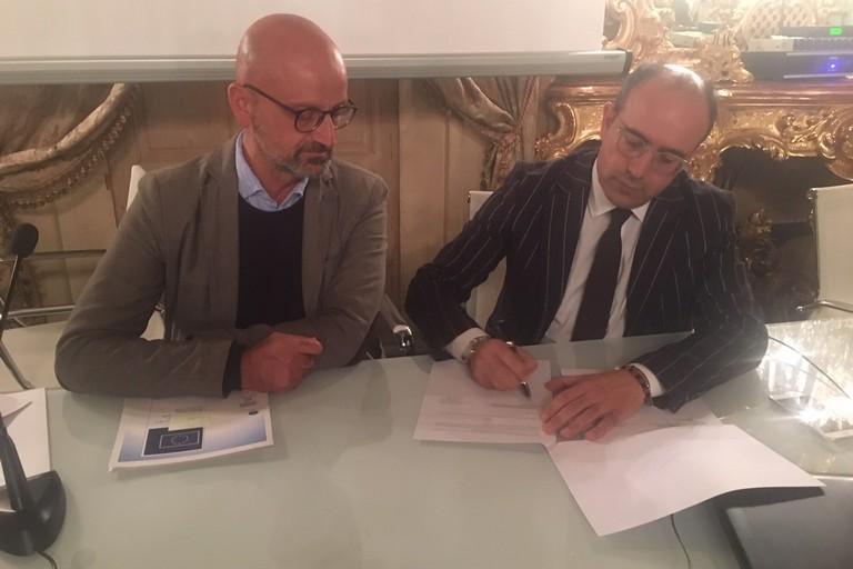 Firma protocollo d'intesa tra l'Ordine degli Architetti Bat e ANPAL Servizi