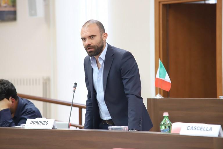 Carmine Doronzo. <span>Foto Cosimo Campanella</span>