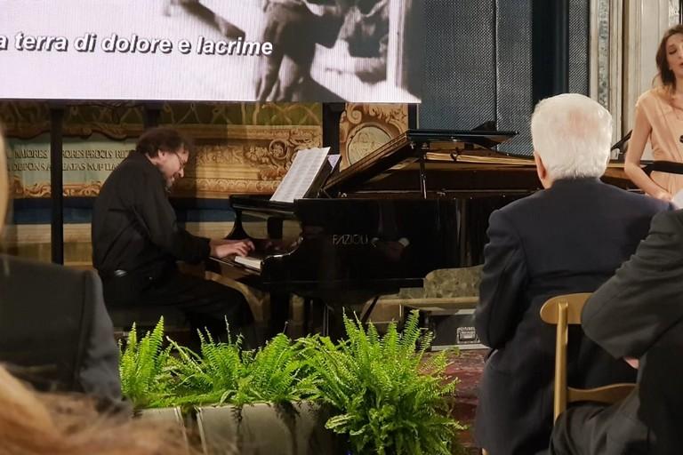 Francesco Lotoro suona al Quirinale