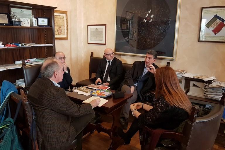Renato Miracco, il critico d'arte incantato da Barletta