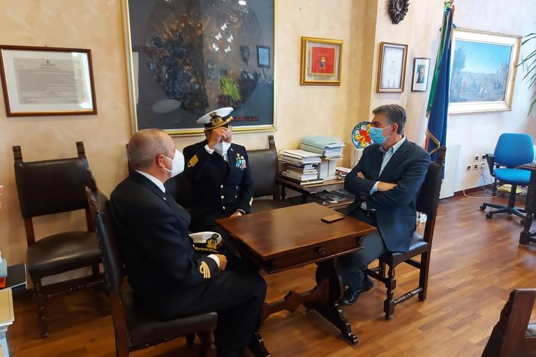 Incontro sindaco - Marina Militare