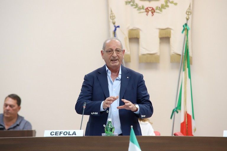Gennaro Cefola. <span>Foto Cosimo Campanella</span>