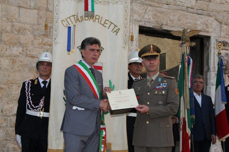 Cittadinanza onoraria per l'82° Reggimento fanteria Torino