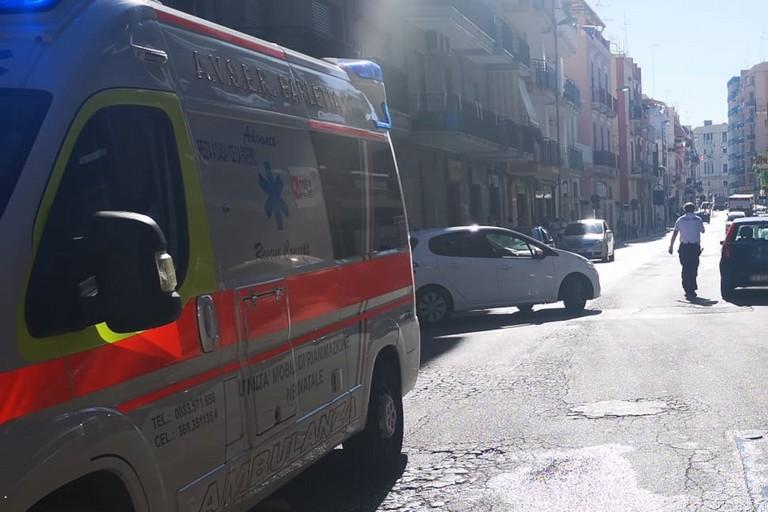 Incidente in via Regina Margherita