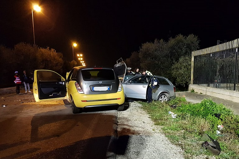 Incidente stradale su via Trani a Barletta