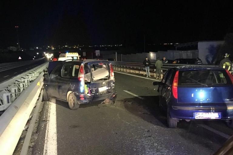 Incidente stradale sull'Andria Barletta