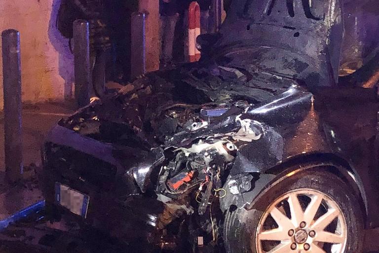 Incidente stradale in via Andria, quattro auto coinvolte e alcuni feriti