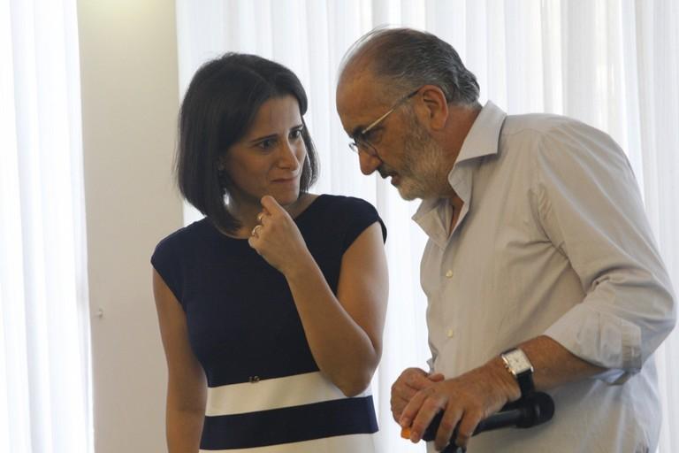 L'Omceo Bat incontra la candidata Antonella Laricchia. <span>Foto Ida Vinella</span>