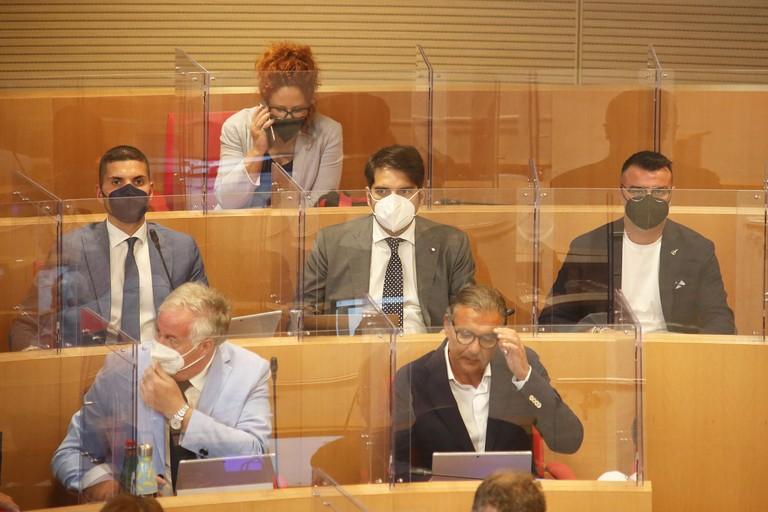Tupputi, Leoci e Lopane in Consiglio regionale