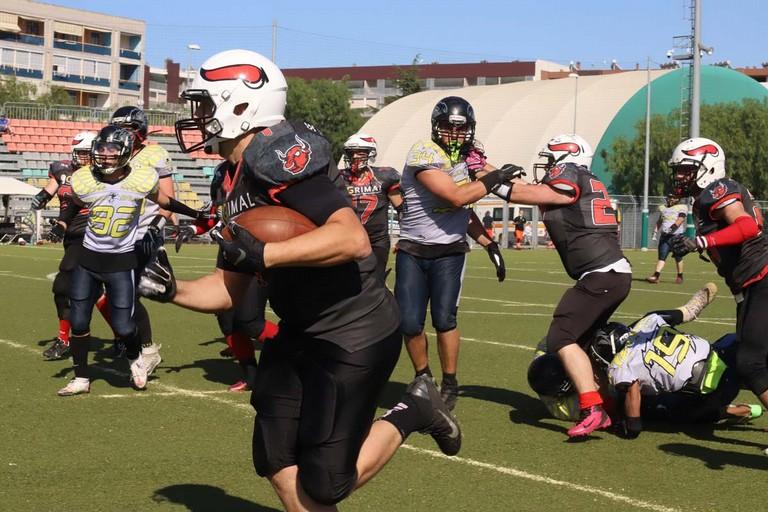 Mad Bulls vs Eagles Salerno