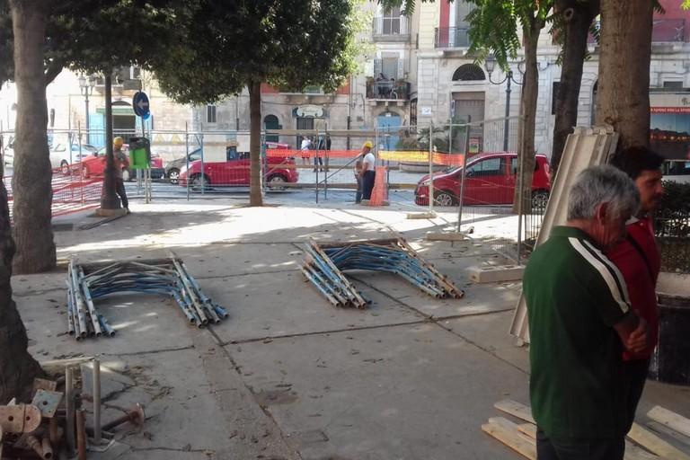 Piazza Plebiscito, iniziano i lavori di manutenzione
