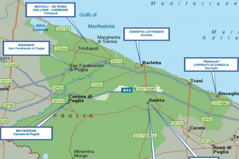 Criminalità organizzata a Barletta e provincia