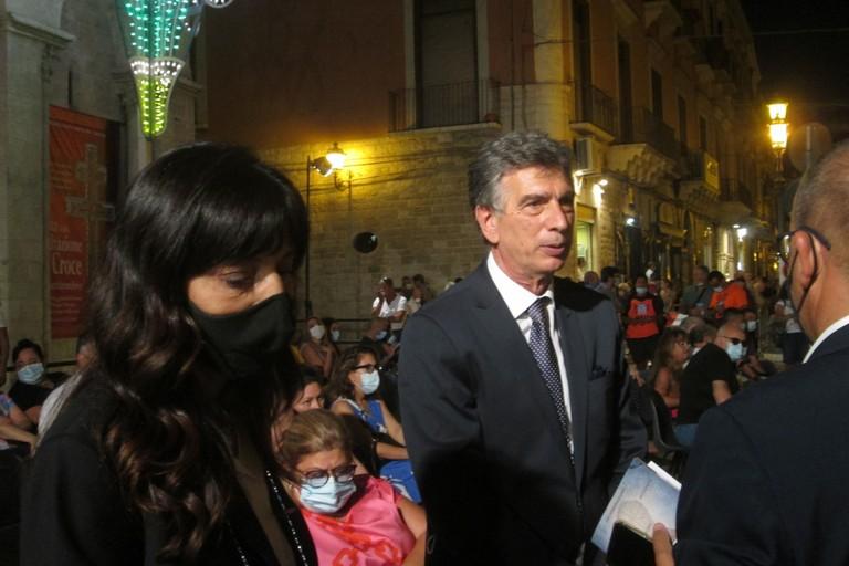 Manuela Olivieri e Cosimo Cannito