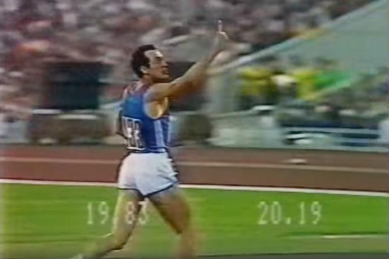 Pietro Mennea vince l'oro a Mosca