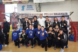Campionato interregionale di kick boxing
