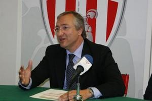 Giuseppe Perpignano, presidente del Barletta Calcio