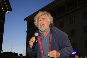 Beppe Grillo a Barletta