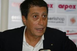 Roberto Tatò, presidente del Barletta Calcio