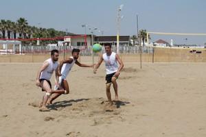 Barletta Beach Soccer, allenamento del 6 giugno 2015. <span>Foto Luca Guerra</span>
