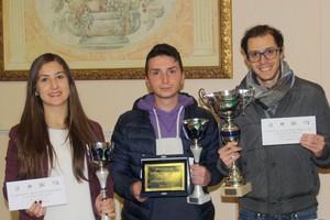 Campionato regionale semilampo, il podio