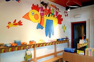 Asilo Scuola materna bambini