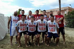 Barletta Beach Soccer, esordio in Coppa