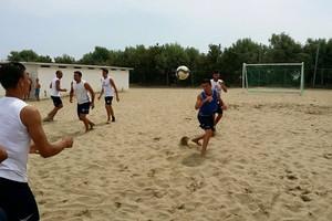 Barletta Beach Soccer, allenamento del 13 giugno 2015. <span>Foto Luca Guerra</span>